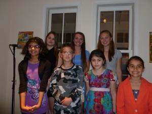 PoetryWITS 2013 Student Winners